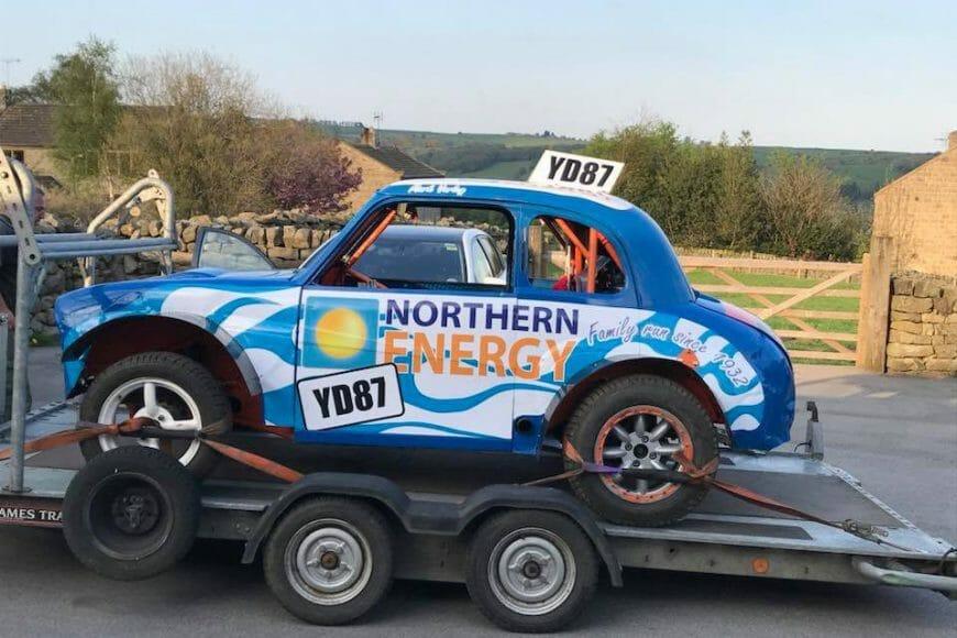 Autograss A35 Race Car – Northern Energy