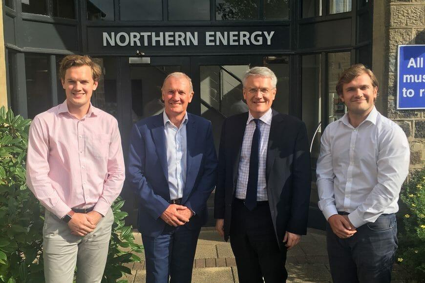Andrew Jones MP Visit